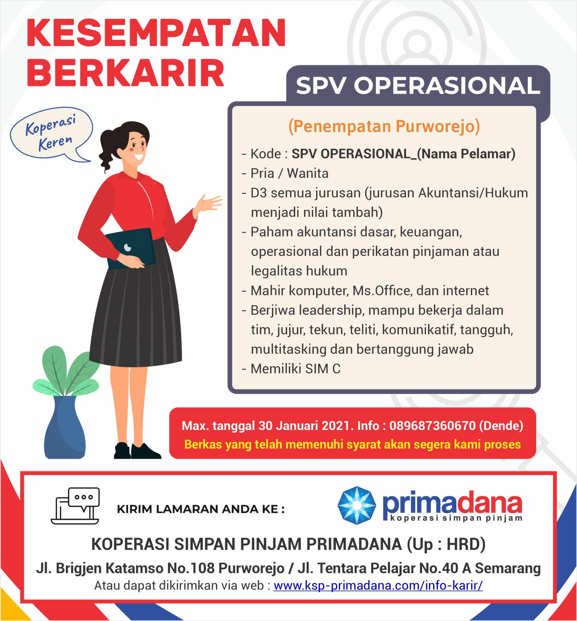 Info Karir Ksp Primadana